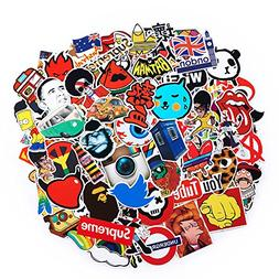 2018 Latest Style 100Pack SuprCool Stickers Set Random Stick