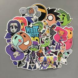 26PCS/Lot Stickers Teen Titans Go! Sticker Laptop Car Skateb