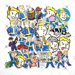 29Pcs Fallout Game <font><b>Sticker</b></font> For Luggage S