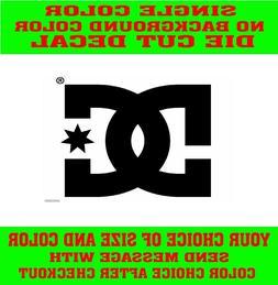 -DC Shoe oracal vinyl decal car window laptop sticker pair