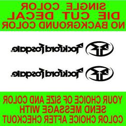2x  Rockford Fosgate vinyl decal car audio window,laptop,ska