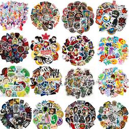 30 Random Skateboard Stickers Vinyl Laptop Luggage Decals Mo