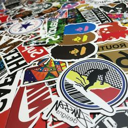 300 Random Skateboard Stickers Vinyl Laptop Luggage Decals D