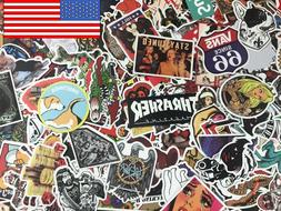 300 Lot Random Vinyl Laptop Skateboard Stickers bomb Luggage