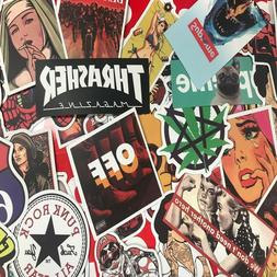 300pcs Mix Lot Stickers for Skateboar Graffiti Laptop Sticke