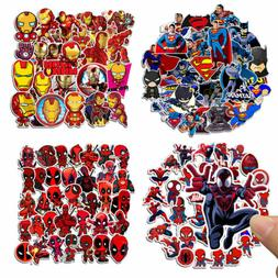 35 Pcs/Lot Stickers MARVEL Avengers Super Hero DC For Car La