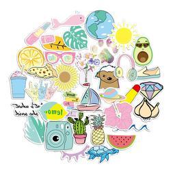 35 pcs vsco stickers pink cute sticker