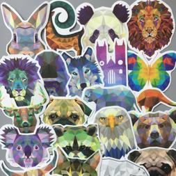 35Pcs Diamond Animals Decal for Car Suitcase Laptop Notebook