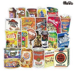 36 Pcs Kuso Originality Retro Food Kids Toy <font><b>Sticker