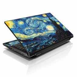 3m Vinyl Laptop Skin Sticker Reusable Protector Cover Case F