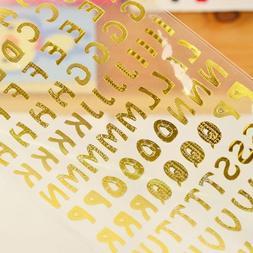 3pcs/L Twinkle Letter <font><b>Sticker</b></font> <font><b>L