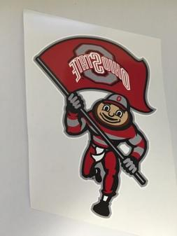 "4"" Ohio State NCAA Vinyl Bumper Sticker Decal Truck Laptop C"