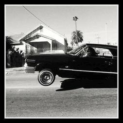 "4"" California Classic Lowrider Bounce vinyl sticker. Decal f"