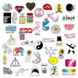 Honch, 46 Pcs Pack of Cute Pink Stickers for Laptop, Car Lug