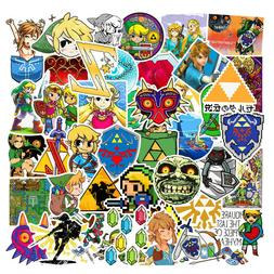 46Pcs The Legend of Zelda Game Sticker Bomb Skateboard Lugga