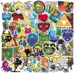 47pcs The Legend of Zelda: Ocarina of Time Luggage Label Lap