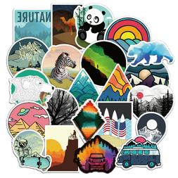 50 Cute Travel Stickers bomb Vinyl Skateboard Luggage Laptop