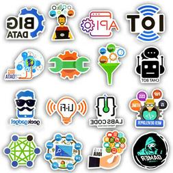 50 developer programming sticker java php linux