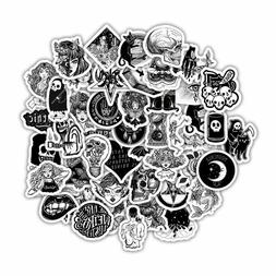 50 Goth Stickers Gothic Punk Emo Death Skull Metal Decals La