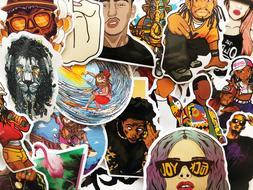 50 Hip Hop Music Rap Artists Graffiti Stickers For Laptop Ph