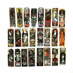 50 Sticker Gothic Lot Pack Skull Laptop Phone Mac Decal Wate