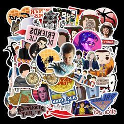 50 stranger things 3 skateboard graffiti sticker
