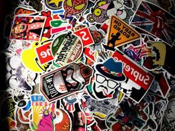50pc Random Laptop Luggage Decals Skateboard Sticker bomb Vi