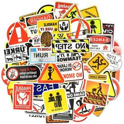50Pc Random Skateboard Stickers Vinyl Laptop Luggage Decals