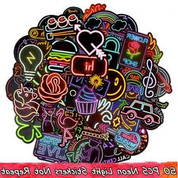 50PC Random Vinyl Decal Graffiti Sticker Bomb Laptop Waterpr