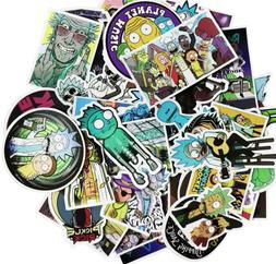50Pcs/bag American Drama New Rick and Morty Funny Sticker De