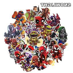 50Pcs Cartoon <font><b>Marvel</b></font> <font><b>Sticker</b
