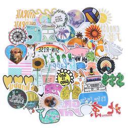50Pcs Cartoon Girls Kawaii Sticker DIY Suitcase Laptop Guita