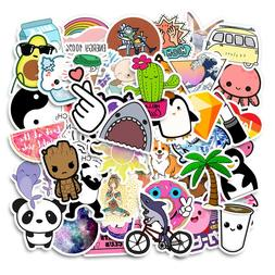 50PCS Cool Summer Vsco <font><b>Stickers</b></font> Pack <fo