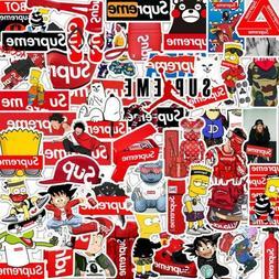 50PCS Supreme Hypebeast Authentic Sticker Pack Car Laptop Lu