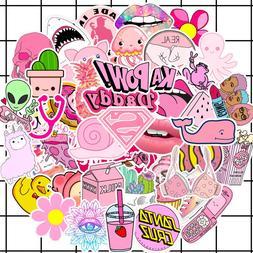 50PCS/lot Cartoon <font><b>Pink</b></font> INS Style vsco Gi