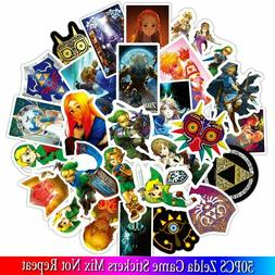 50PCS New The Legend of Zelda game Stickers Sets Anime Stick