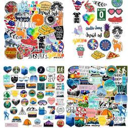 50Pcs Random Vinyl Laptop Skateboard Sticker bomb Luggage De