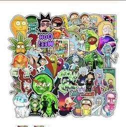 50pcs rick and morty stickers vinyl decal