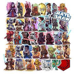 50Pcs Star Wars Vinyl Stickers Bomb Graffiti Laptop Skateboa