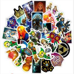 50pcs The Legend of Zelda Stickers for Luggage Laptop Car Sk