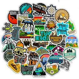 50pcs Travel Skateboard Stickers Vinyl Bomb Laptop Luggage D