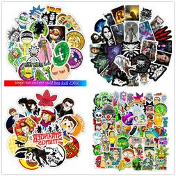 50PCS Waterproof Vinyl Stickers Decals for Luggage Laptop Gr