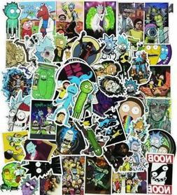 50x Rick And Morty Stickers LOT Waterproof COOL Laptop Car T