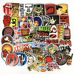 52 Stickers Lot Rock Band Punk Music Heavy Metal Bands Lapto