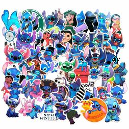 52pcs Stitch Stickers for laptop luggage waterbottle car pho