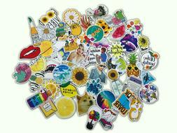 53 PCS Cute Funny Life Lot Skateboard Stickers Vinyl Laptop
