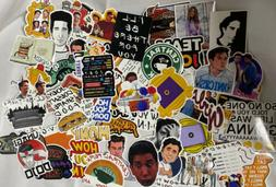 60 Pcs mostly Friends TV Shows  Waterproof Stickers Decal VS