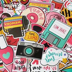60 Hydro Flask Stickers, Cute Laptop Stickers VSCO Girl Wate