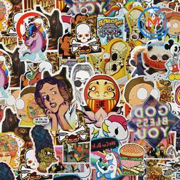 600 pcs Skateboard Stickers Graffiti Laptop Sticker Luggage