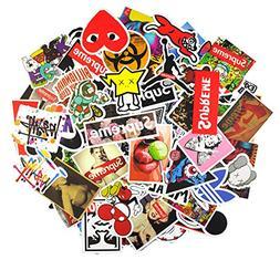 7 series matte sticker